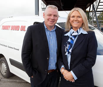 Tommy and Geraldine Dowd - Directors of Tommy Dowd Oil